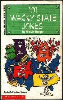 Image for 101 Wacky State Jokes
