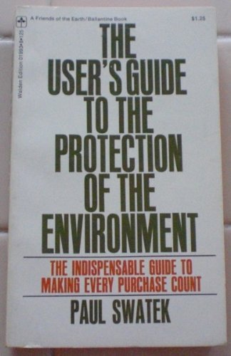 Image for The User's Guide to the Protection of the Environment