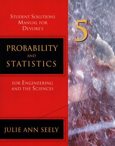Image for Probability and Statistics for Engineering and Science