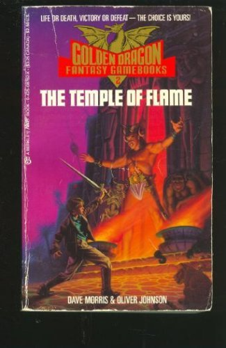 Image for The Temple of Flame (Golden Dragon Fantasy Gamebooks)